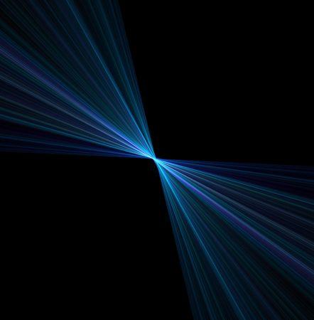 An abstract vortex illustration - speeding toward a central point. illustration