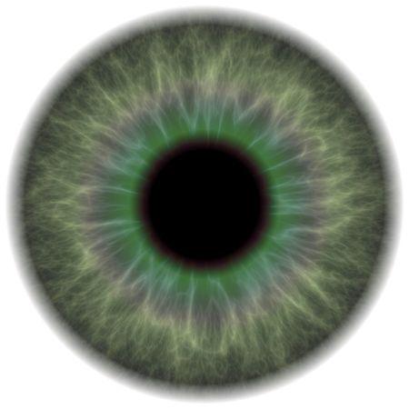 oeil rouge: Une section tr�s d�taill�e l'iris de l'?il humain. Cela fonctionne tr�s bien pour des r�parations dans les yeux le portrait de retouche des yeux rouges ou le d�m�nagement. Banque d'images