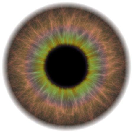 optometria: Bardzo szczegółowe części tęczówki oka ludzkiego. Działa to wielkie dla oka napraw w portret retusz lub usuwanie efektu czerwonych oczu.
