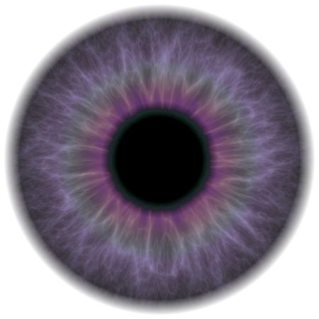 optometry: A highly detailed iris section of the human eye.  This works great for eye repairs in portrait retouching or red eye removal. Stock Photo