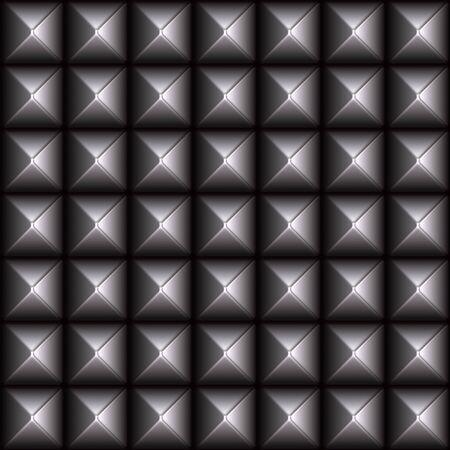벨트 또는 패션 액세서리에서 찾을 수있는 초호화 금속 패턴. 이 원활 하 게 어떤 방향으로 패턴으로 바둑판 식으로 배열합니다.