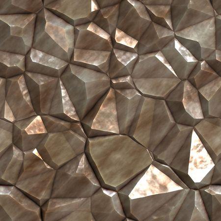 Une pierre brute et dentelées texture que des tuiles de façon transparente. Banque d'images - 3786126