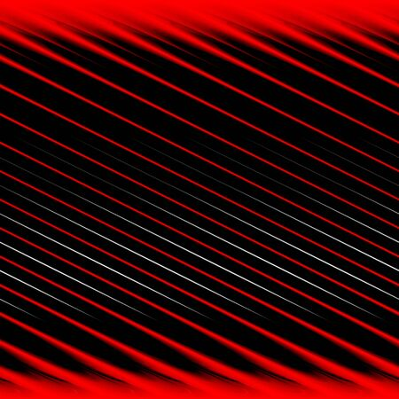 Een achtergrond patroon met rode en zwarte diagonale streepjes. Stockfoto