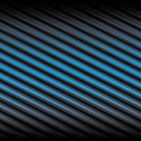 A background texture with blue and black diagonal stripes.