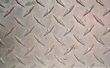 Closeup of real diamond plate material - this is a photo not an illustration. Stock Illustration - 3879612