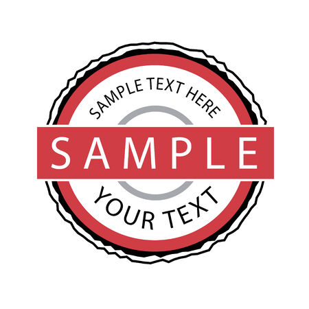 A seal or badge that is fully editable - add your own text.  This vector object is a great art element to have on file. Vector
