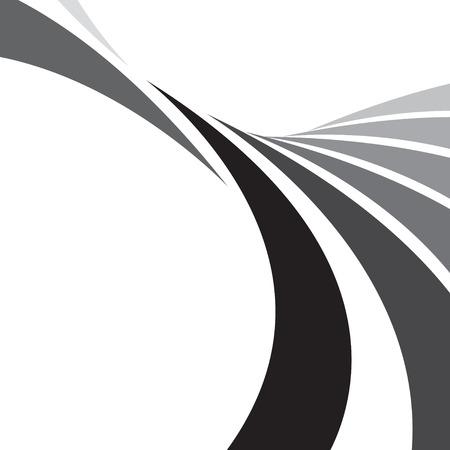 line in: Un modello astratto e abbondantemente con copyspace. Questo vettore rende una grande immagine di sfondo.