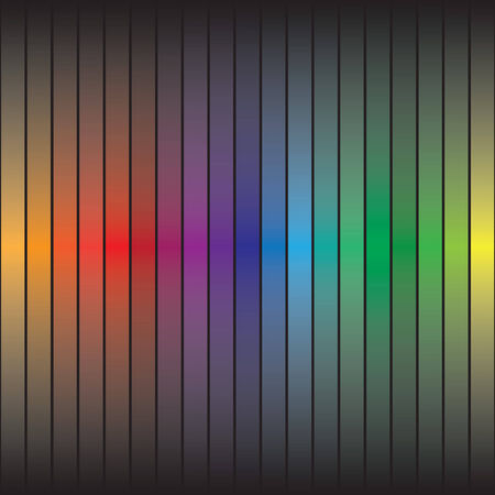 customizable: A rainbow colored abstract texture with colorful bars.  This vector is fully customizable. Illustration