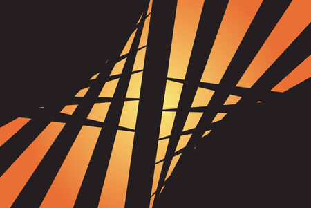 twists: An abstract design template with plenty of copyspace. This vector image makes a great background. Illustration