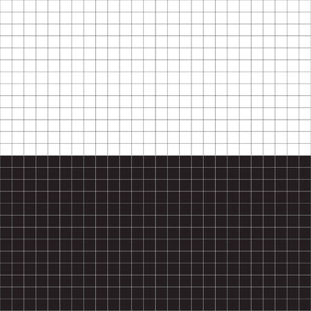 A black and white grid layout - plenty of copyspace.  This vector is fully editable. Stock Vector - 3952374