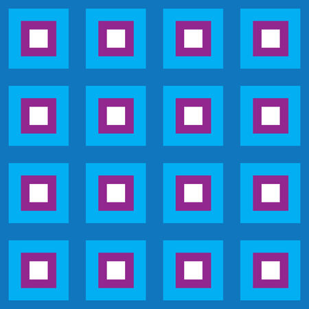 fully: A retro looking blue squares pattern that tiles seamlessly.  This vector is fully customizable.
