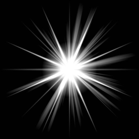 An abstract lens flare. A highly useful art element. Stock Photo - 3984309