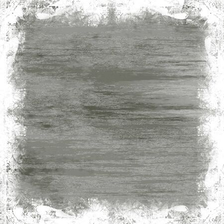 scratched: A metallic grunge border.  Works great as a background. Stock Photo