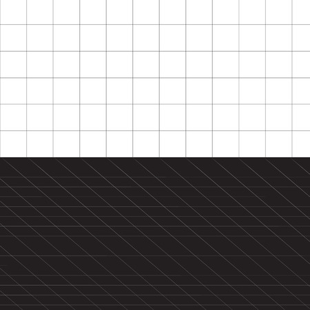 A black and white grid layout - plenty of copyspace.  This vector is fully editable. Stock Vector - 4020396