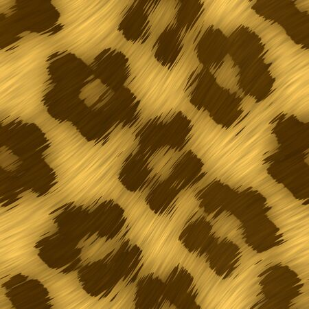 A leopard print texture that tiles seamlessly as a pattern in any direction.  Stock Photo