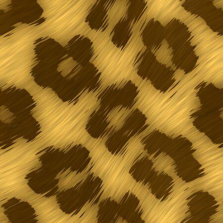 manteau de fourrure: Un imprim� l�opard texture des tuiles de fa�on transparente comme un mod�le dans tous les sens.