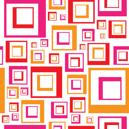 A retro looking squares pattern that tiles seamlessly.  This vector is fully customizable.
