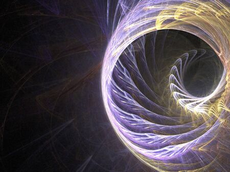 An abstract fractal design with plenty of copyspace.