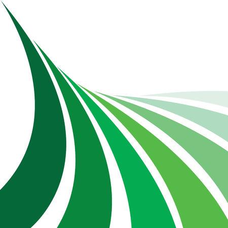 leaving: Een abstract ontwerp indeling die lijkt op landbouwgrond met rijen van gewassen. Deze vector afbeelding maakt een groot achtergrond.
