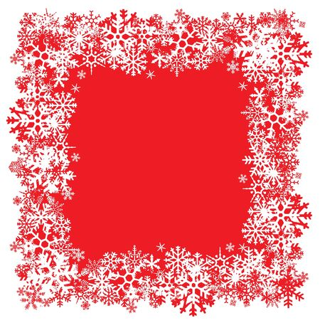 A snowflakes border texture that can be used as a border or edge on your design.