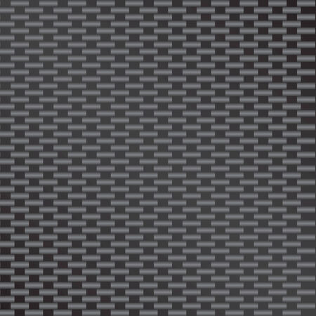 A vectorized version of the highly popular carbon fiber material.  This version tiles seamlessly as a pattern in any direction. Stock Vector - 4155553