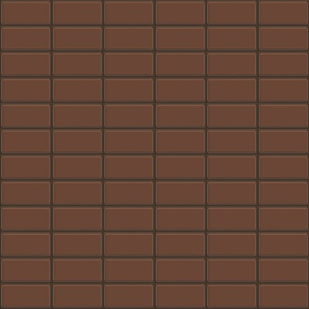Seamless chocolate bars texture that tiles as a pattern. Stock Photo