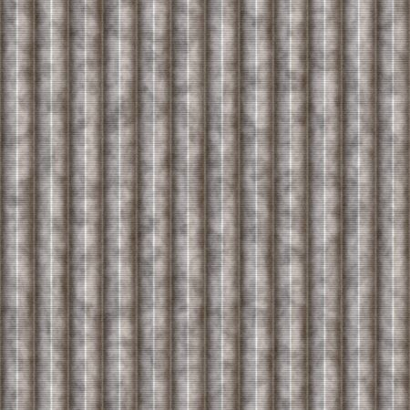 ridges: Galvanized steel texture with ridges that tiles seamlessly as a pattern.