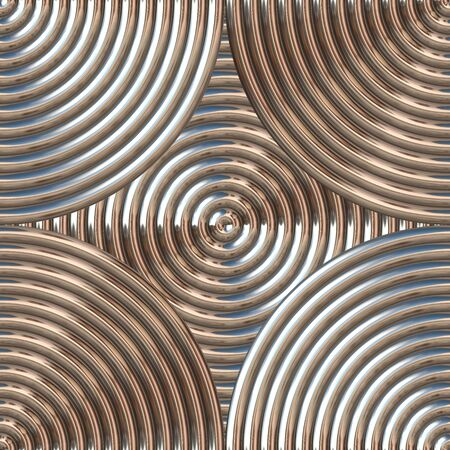 Machined metal texture with a circular texture that tiles seamlessly as a pattern. photo