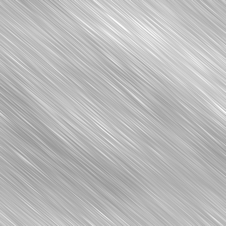 brushed aluminium: Brushed metal background texture - a great art element for any design. Stock Photo