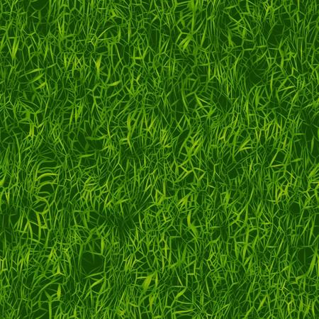 Groen gras textuur die tegels naadloos als een patroon. Stockfoto