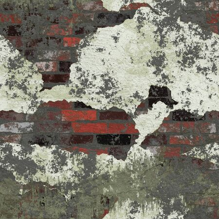 ure: Grungy brick wall texture that tiles seamlessly as a pattern.