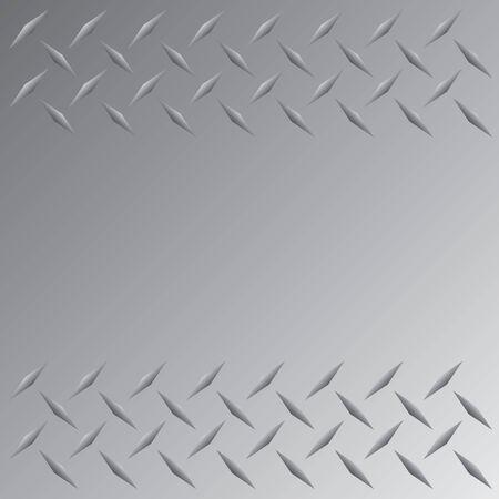 pavimento lucido: Una targa d'argento con diamanti colorati layout che senza soluzione di piastrelle in qualsiasi direzione. Questo vettore immagine � facilmente personalizzate per qualsiasi altro stile.