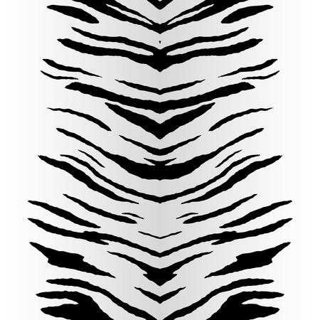 seamlessly: Zebra striscia modello che senza soluzione di piastrelle come un modello in qualsiasi direzione. Vettoriali
