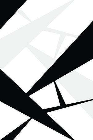 Een abstracte achtergrond met geometrische vormen en veel van de copyspace. Dit werkt geweldig als een magazine advertentie pagina-indeling.