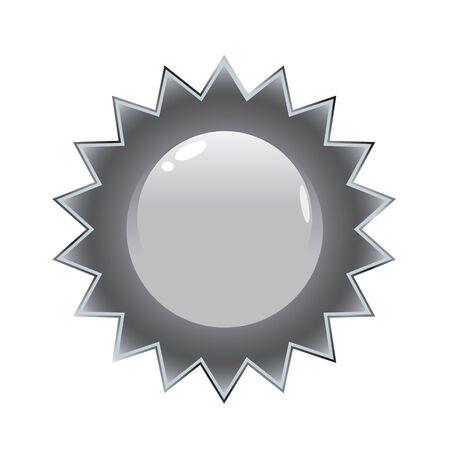 starbursts: Un sello de plata que las obras grandes en el envase del producto o en la web.