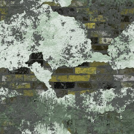 Grungy brick wall texture that tiles seamlessly as a pattern. Stock Photo - 4324395