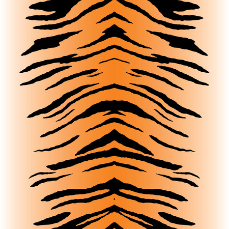 stripe: Tiger stripe pattern that tiles seamlessly as a pattern in any direction. Illustration