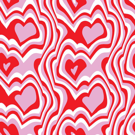 seamlessly: A hearts texture that tiles seamlessly as a pattern.