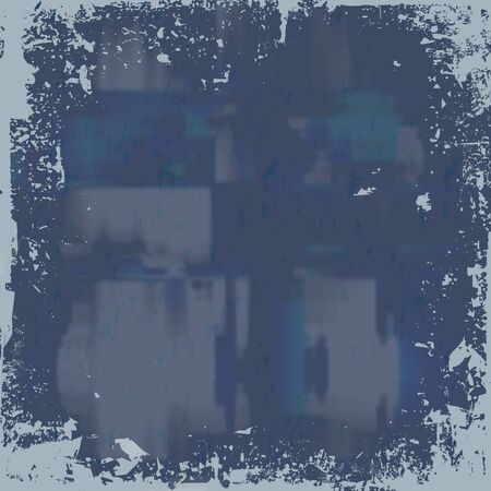 A worn looking grunge background in a blue tone. Stock Photo - 4476376