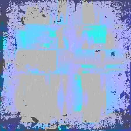 A worn looking grunge background in a blue tone. Stock Photo - 4485547