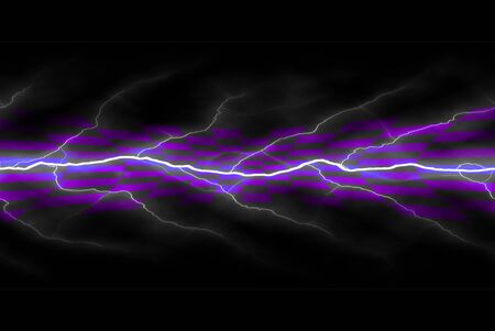 electrifying: A background texture with bright glowing electricity flowing through the center. Stock Photo