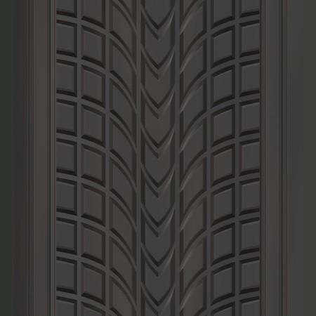 pisada: Un autom�vil o cami�n de rodadura del neum�tico textura que las baldosas sin fisuras.