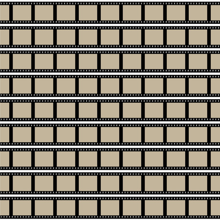 negatives: Film strips background design with lots of empty frames.  This vector image is fully customizable.