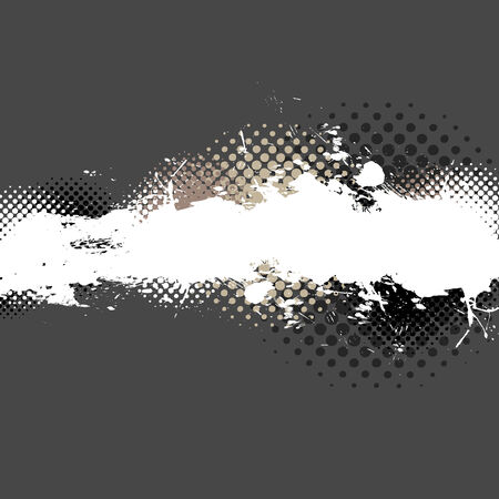 An abstract paint splatter background texture with lots of copy space. Stock Vector - 4728831