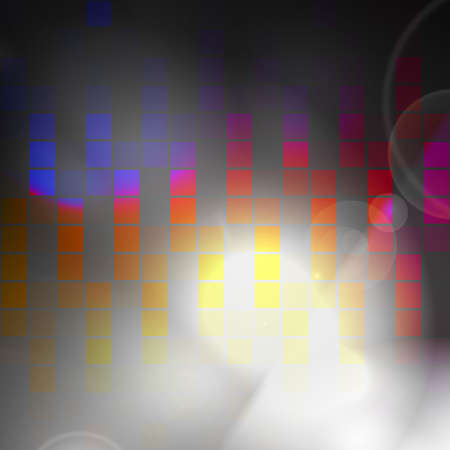 An abstract audio waveform background that easily adds style to any design. photo