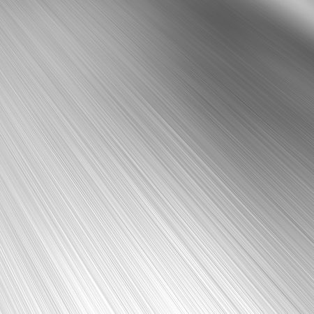 brushed aluminum: A brushed aluminum background or texture with reflective highlights.