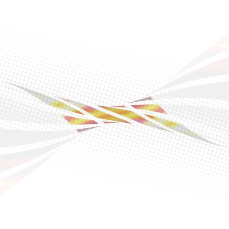 An abstract design template with twisted swoosh lines and plenty of copyspace. Stock Photo - 4840528