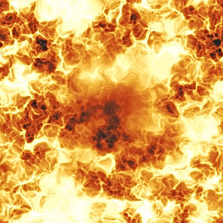 Illustration of a fiery red explosion.  This texture tiles seamlessly as a pattern in any direction.  Stock Photo