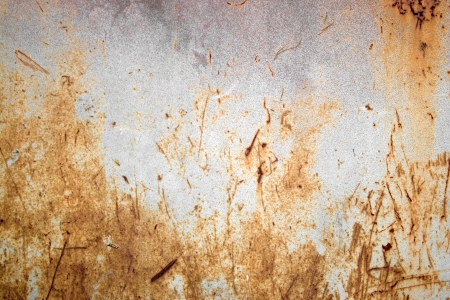gritty: A rusted metal texture.  A very grungy and worn looking material.