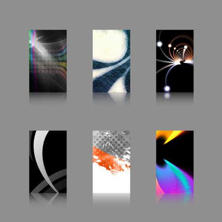 handout: An assortment of 6 modern business card templates